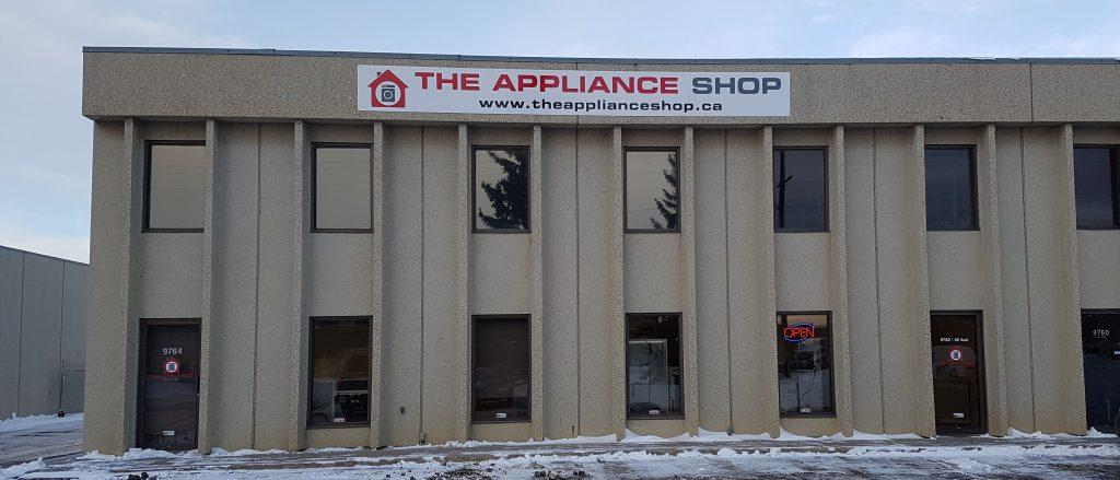 The Appliance Shop Header